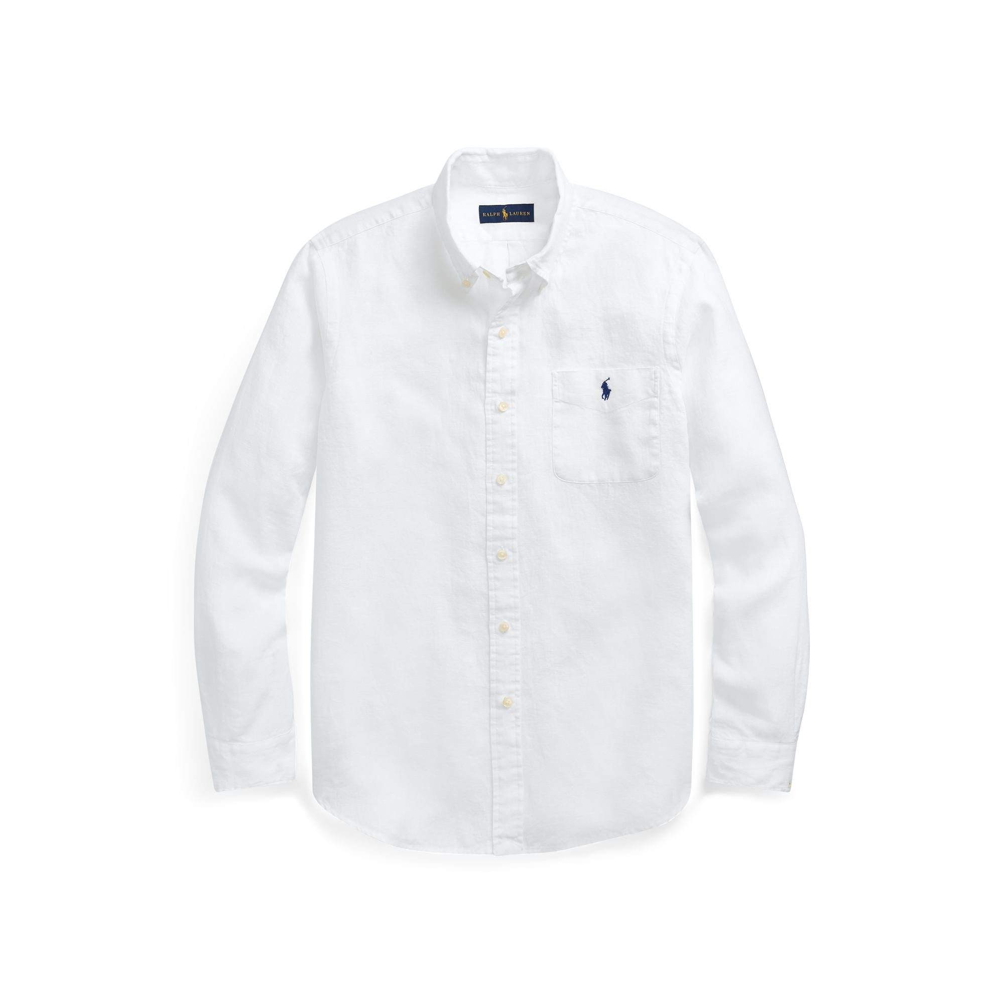 A classic button-down is a must-have
