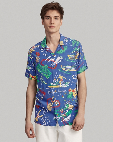 b47ceb8fc2 Classic Fit Tropical Shirt. Take 30% off. Polo Ralph Lauren. Classic Fit  Tropical Shirt.  125.00