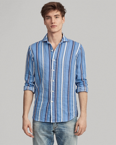 54927e3746 Classic Fit Striped Shirt