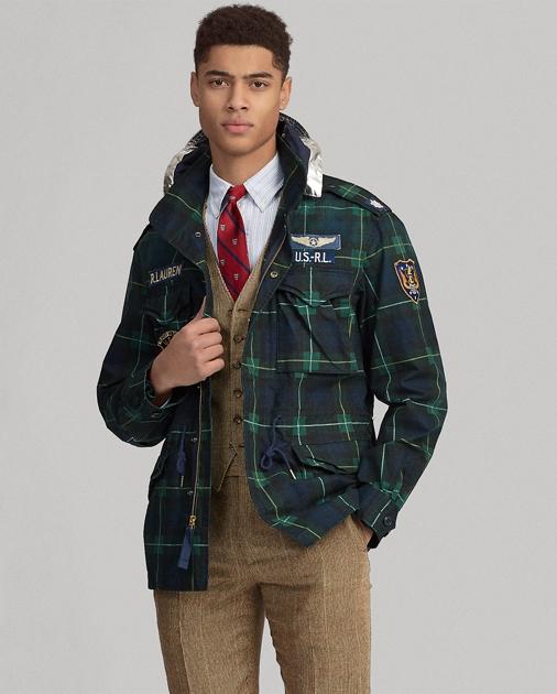 a93e9c92e8687 Polo Ralph Lauren Tartan Field Jacket 1
