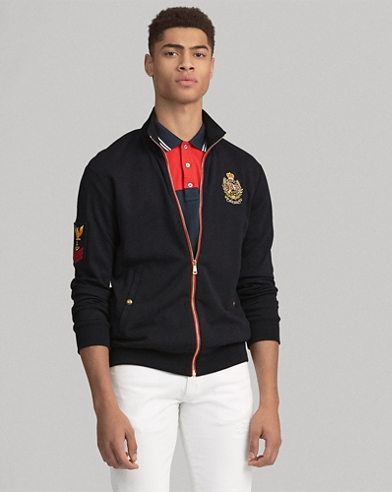 3f6bf52c1e25 Double-Knit Track Jacket