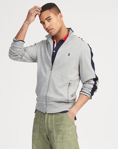 Cotton Interlock Track Jacket
