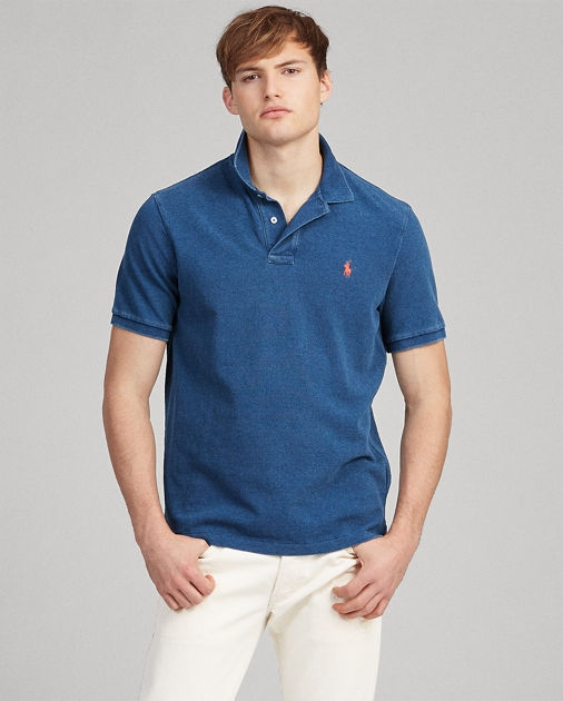 Polo Ralph Lauren Indigo Mesh Polo Shirt - All Fits 1