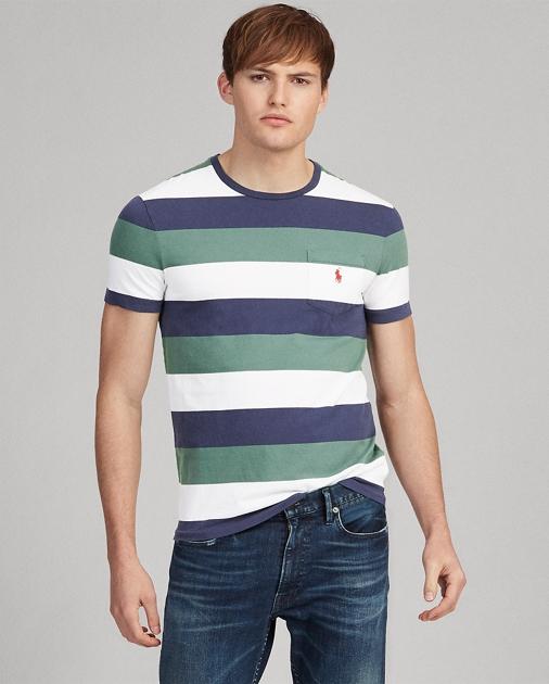 Polo Ralph Lauren Custom Slim Fit Pocket T-Shirt 1