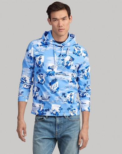 Tropical Cotton Hooded Tee