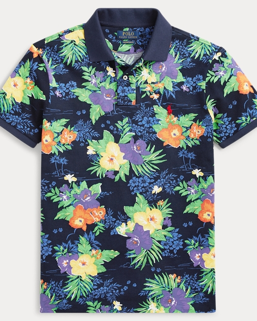 Floral Classic Polo Fit Floral Classic Fit Mesh Floral Mesh Mesh Polo Classic Fit 0OkXwn8NP