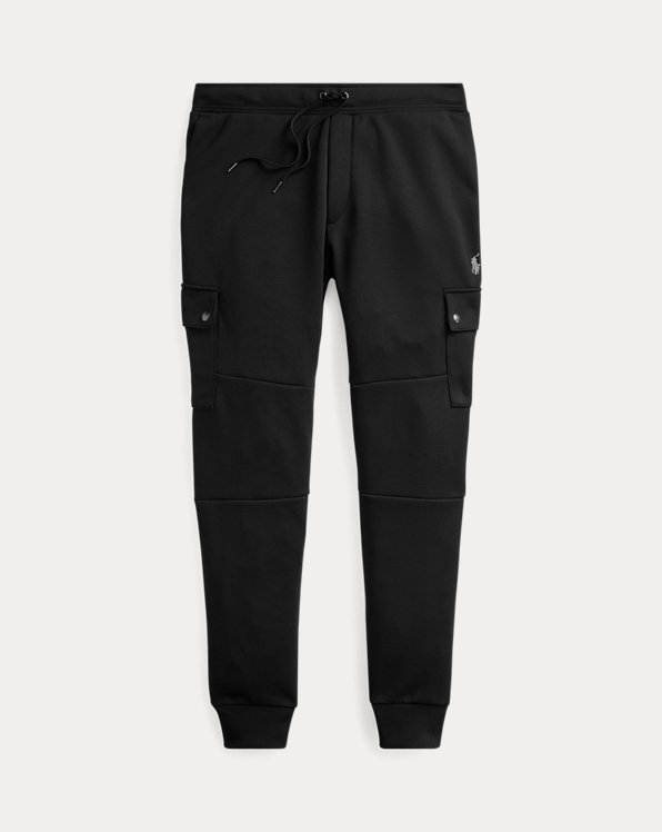 Double-Knit Cargo Jogger Pant