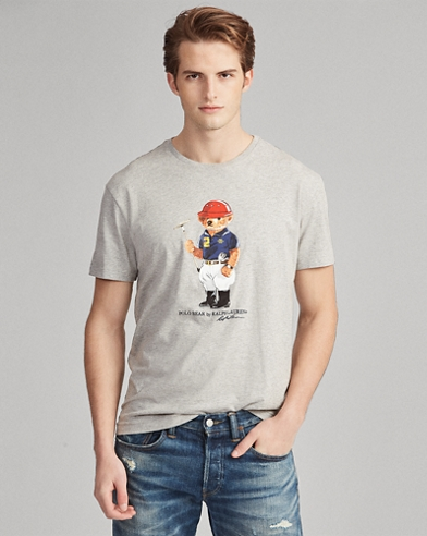 Classic-Fit T-Shirt mit Polo Bear
