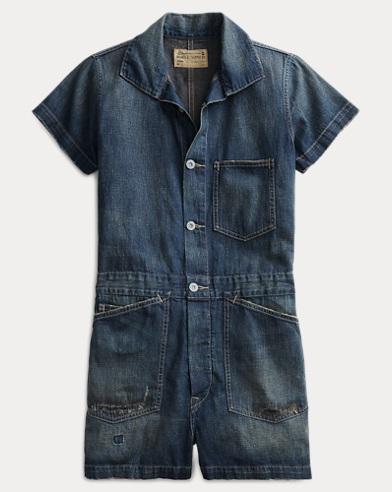 Cotton-Linen Romper