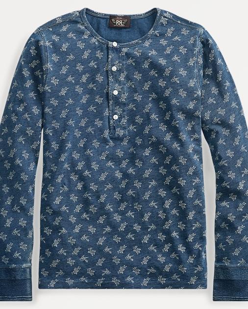 4d70d1995fa RRL T-shirt en lin et coton 1