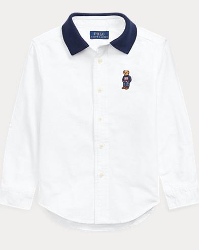 e25bf79a0 Polo Bear Cotton Oxford Shirt