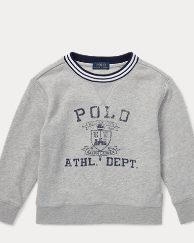 Twill Terry Graphic Sweatshirt