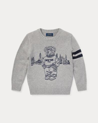New York Polo Bear Sweater