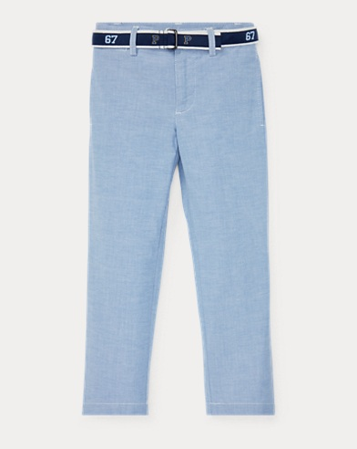 Belted Stretch Skinny Pant