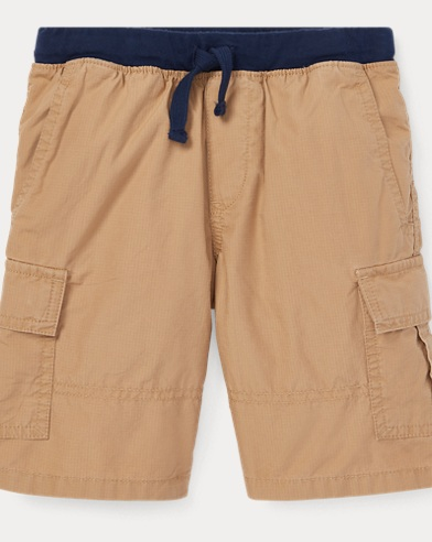 Cotton Pull-On Cargo Short