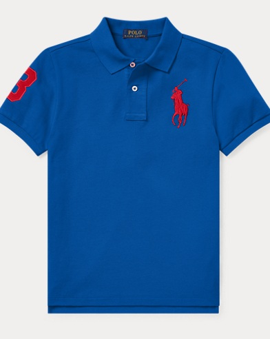 Classic Fit Cotton Mesh Polo