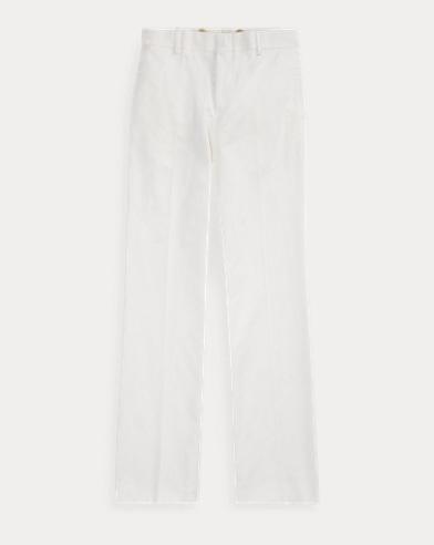 Cotton-Blend Gabardine Trouser