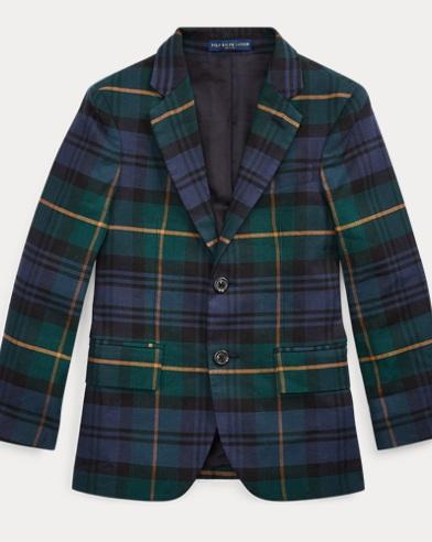 Polo Tartan Twill Sport Coat