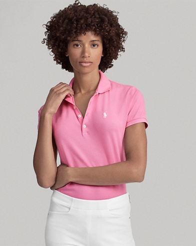 Tailored-Fit Golf-Polohemd