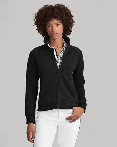 Golf Quilted Zip Jacket