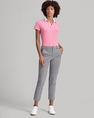 Plaid Golf Capri Pant