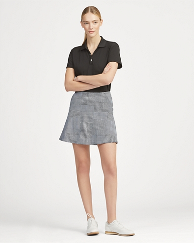Golf-Hosenrock mit Glencheck-Muster