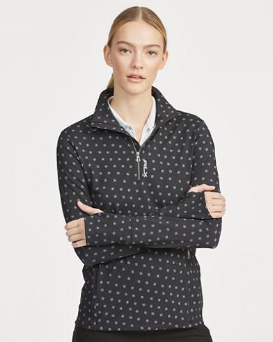 Moisture-Wicking Zip Pullover