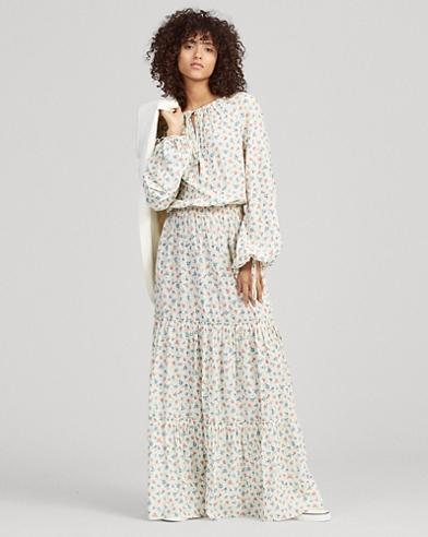 774b8b98f8ec Floral Gauze Dress. Polo Ralph Lauren