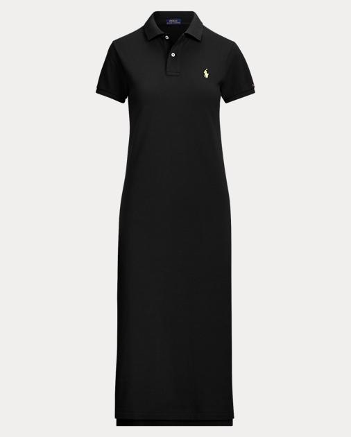 05ba0e76 Cotton Mesh Polo Dress