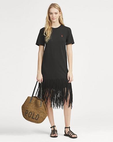 14b3c9c1b3d3 Fringe Cotton Shirtdress. Polo Ralph Lauren. Fringe Cotton Shirtdress.   198.00. Save to Favorites
