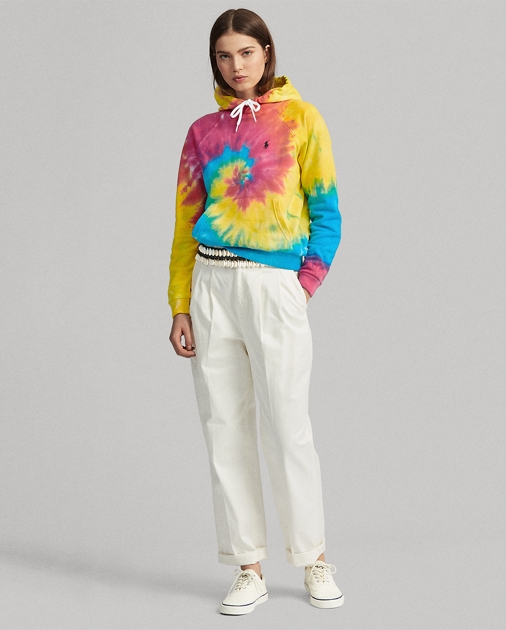 Polo Ralph Lauren Shrunken Fit Tie-Dye Hoodie 3