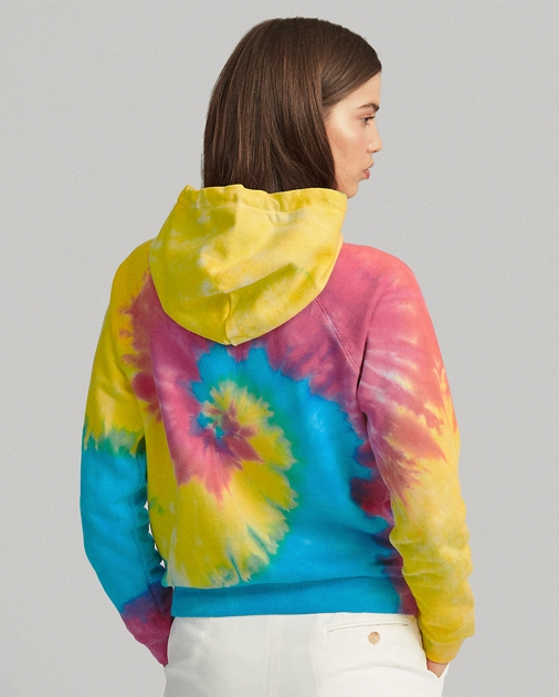Polo Ralph Lauren Shrunken Fit Tie-Dye Hoodie 4