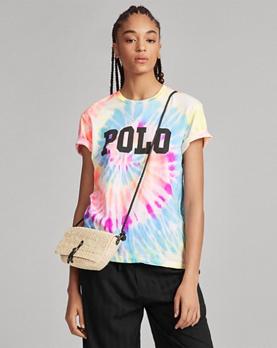 Big Fit Tie-Dye Cotton Tee
