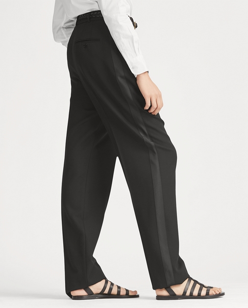 a4d4f110a08 Polo Ralph Lauren Tuxedo-Stripe Wool Pant 4