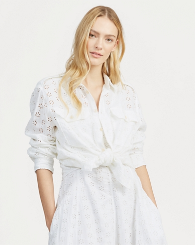 48a7b7615 Women's Designer Shirts & Blouses | Ralph Lauren UK