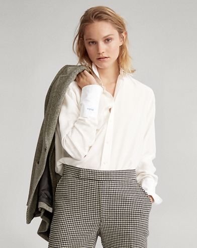 Silk-Broadcloth Shirt