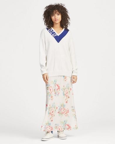 Floral Maxiskirt