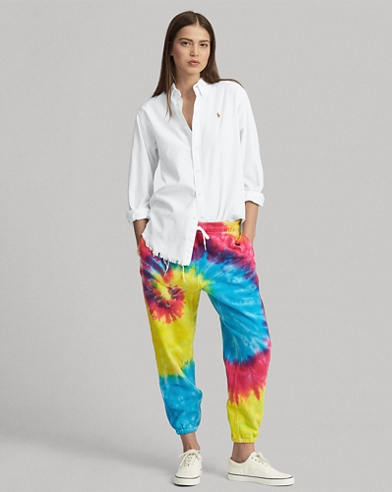 Tie-Dye French Terry Tracksuit Bottom