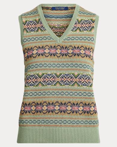 696124bc983 Fair Isle Golf Sweater Vest. Ralph Lauren Golf