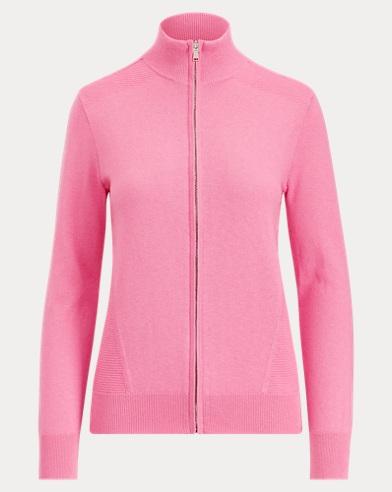 Thermal Golf Zip Sweater