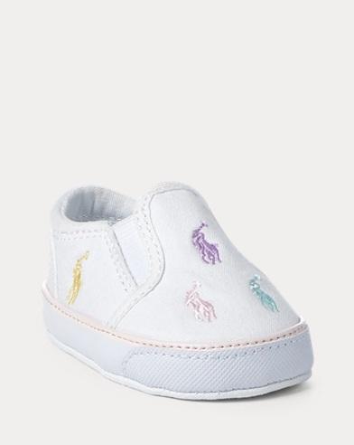 Bal Harbour Slip-On Sneaker. Baby Girl