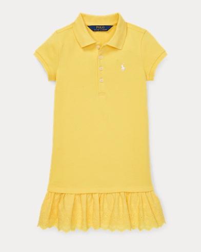 Eyelet Polo Dress