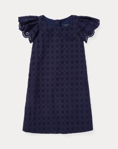 Eyelet Woven Dress