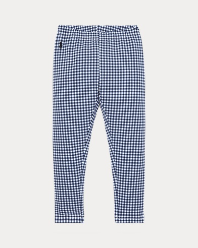 Gingham Stretch Legging