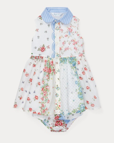 Floral Shirtdress & Bloomer