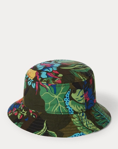 Floral Reversible Bucket Hat. Baby Boy eecf23b053c