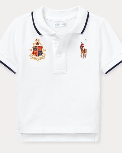 Piqué Mesh Polo Shirt