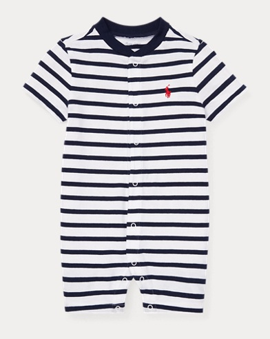98549439cf Striped Cotton Jersey Shortall