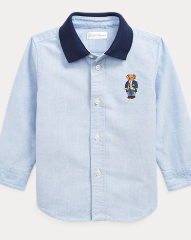 675b90bfc8 Polo Bear Cotton Oxford Shirt