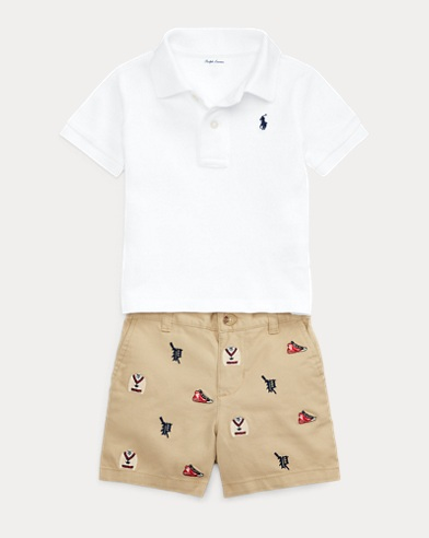 Polo Shirt & Short Set
